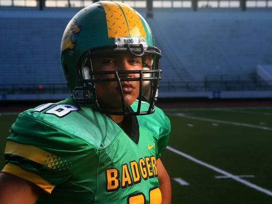 Banquete's Jarren Hernandez poses for a photo on Wednesday,