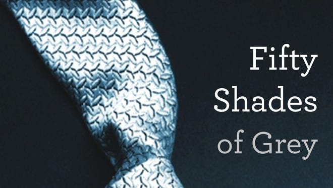 Book jacket of 'Fifty Shades of Grey' by EL James which wrapped film production in Vancouver.
