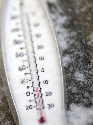 Temperatures below freezing and snow are expected in the Lansing area this week.
