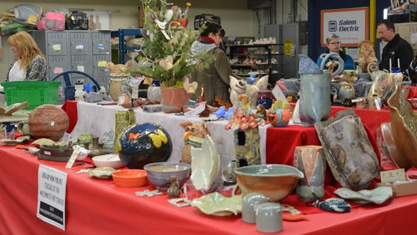 Holiday Pottery Sale: Mugs, plates, platters, bowls,