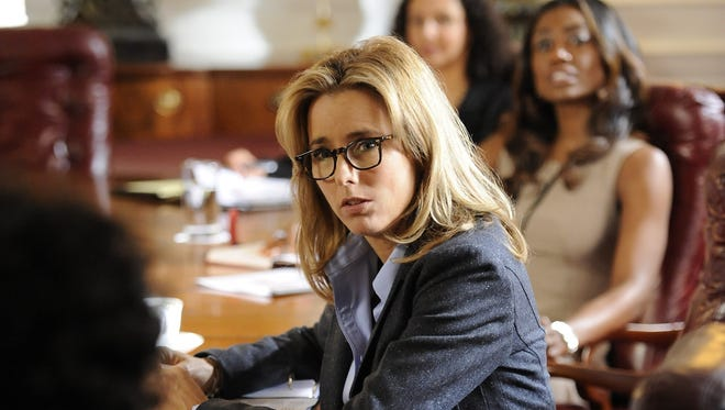 Tea Leoni stars as Elizabeth McCord, the newly-appointed Secretary of State, on 'Madam Secretary' on CBS.