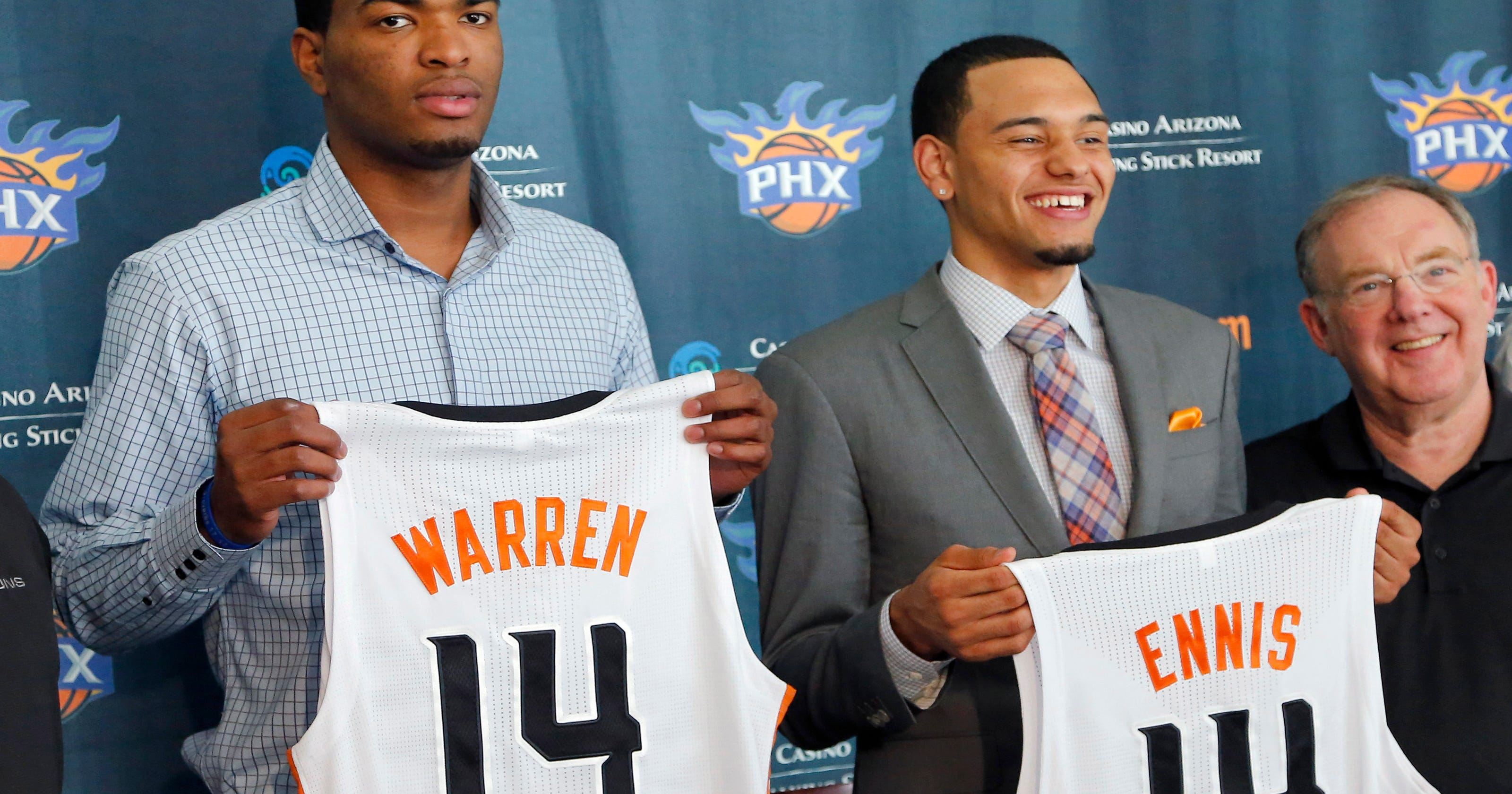 7c12a80d8 Suns  top 2 draft picks bring ACC credentials