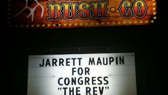 A Phoenix strip club, The Great Alaskan Bush Company, has endorsed a Democratic pastor for Congress.