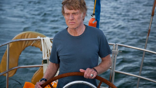 Robert Redford anchors the stormy sea survival story 'All is Lost.'