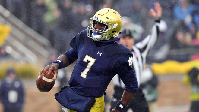 Brandon Wimbush and the Notre Dame football team has a huge game on Saturday.