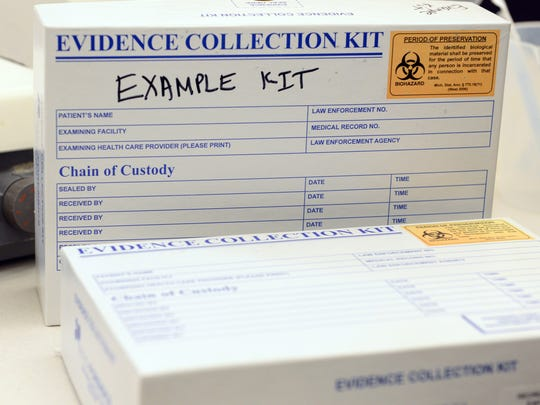 Wayne County Prosecutor Kym Worthy said in March that about 600 of the more than 11,300 rape kits discovered in 2009 have yet to be tested.