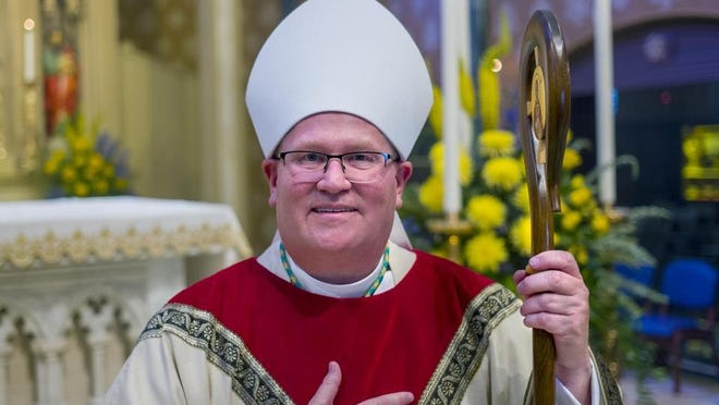 Bishop Louis Tylka, who in 2022 is expected to become leader of the Catholic Diocese of Peoria.