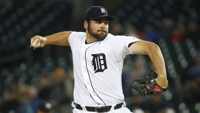"Michael Fulmer, last season's AL Rookie of the Year, will take the mound in the Tigers' home opener. ""It's a huge honor,"" Fulmer says."
