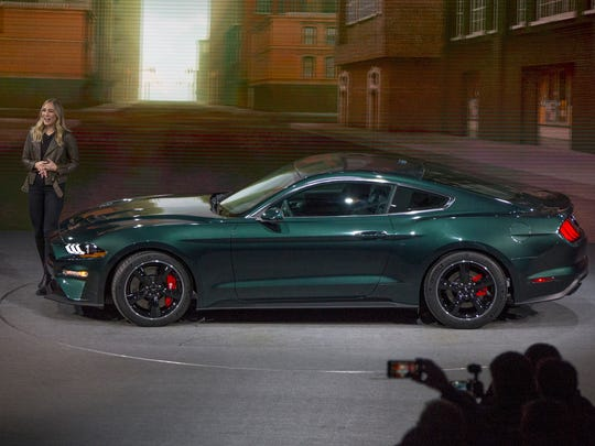 Ford Shows Off Mustang Bullitt Finds Original Fastback - Ford show car