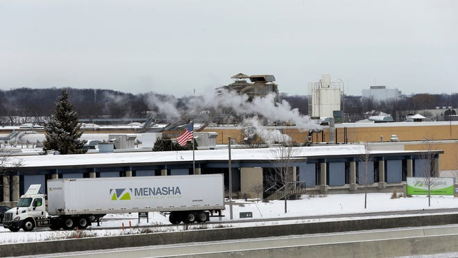 Menasha Corp.'s new facility will encompass more than 100,000 square feet of space on Bergstrom Road and will double as the national headquarters of Menasha Packaging Co.