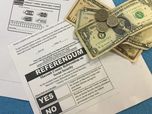 Phony referendum on Social Security