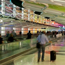 Airports with the longest walks between gates