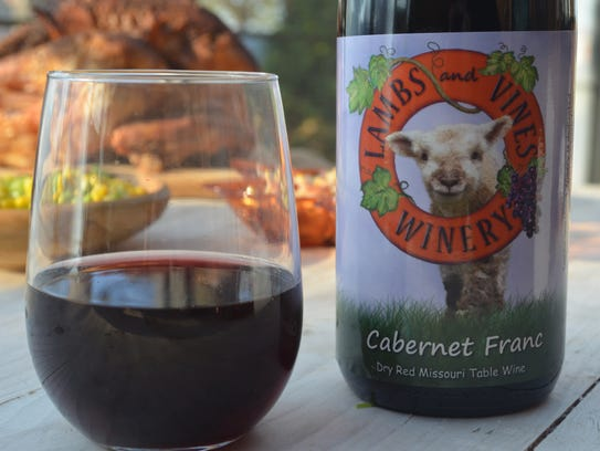 Lambs and Vines Winery's Cabernet Franc is a wonderful