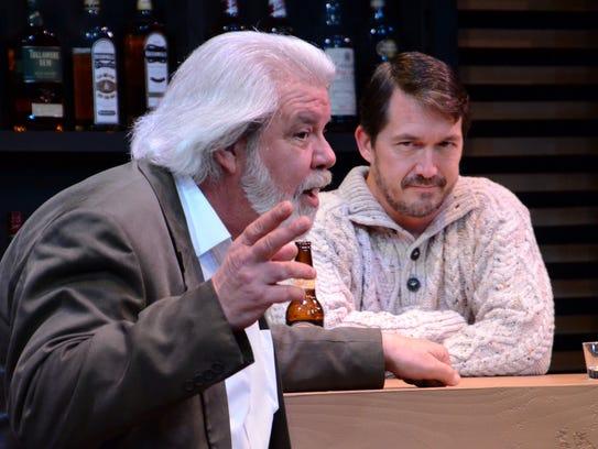 Michael Fleck (left) and Steven Fajardo in Theatre