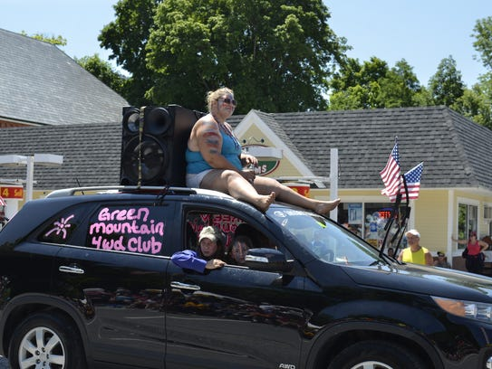 Paraders in Bristol on July 4 2016