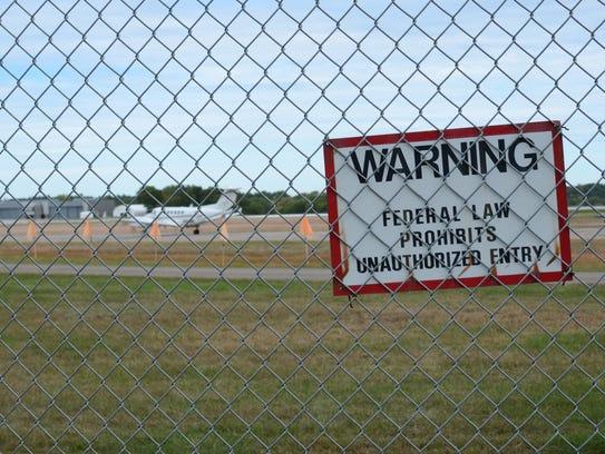 Burlington International Airport on Friday, Sept. 30,