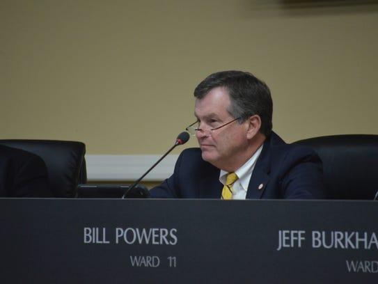 Ward 11 Councilman Bill Powers