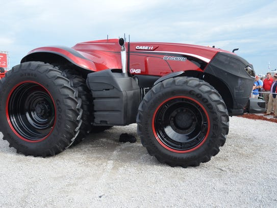 Case IH will showcase its autonomous, or driverless,