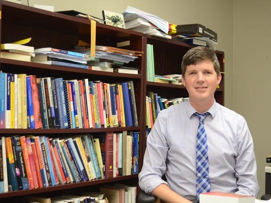 Michael Gruszczynski, associate professor at the APSU