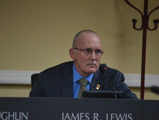 Ward 3 councilman James Lewis at the December city