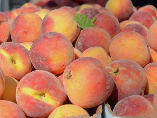 There are 4,700 acres of peach orchards in New Jersey,