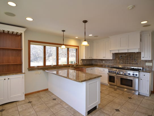 The chef's kitchen at 772 Route 9W in Piermont has