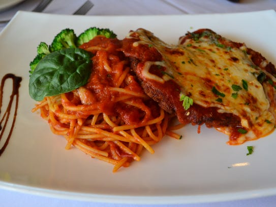 The Chicken Parmesan at Avanzare is some of the best