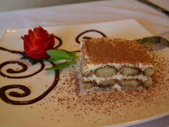 The tiramisu ($6) at Avanzare is not to be missed.