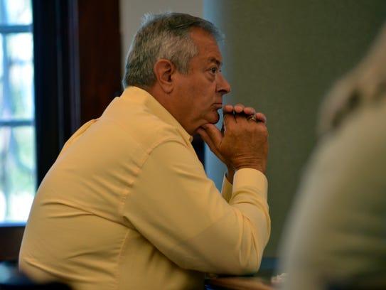 Ken Hatzenbeller awaits his sentencing order while