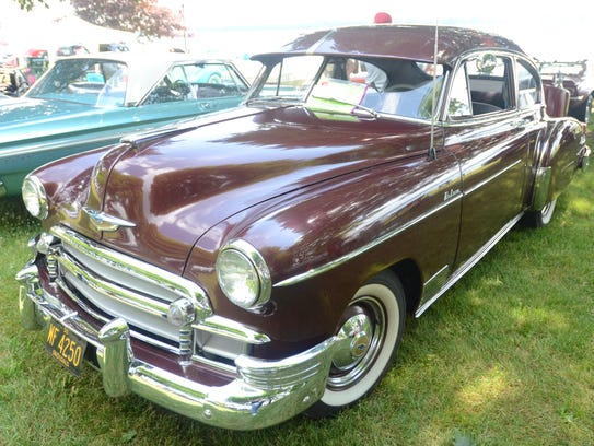 A 1950 Chevrolet Fleetline, owned by Jerry Williams