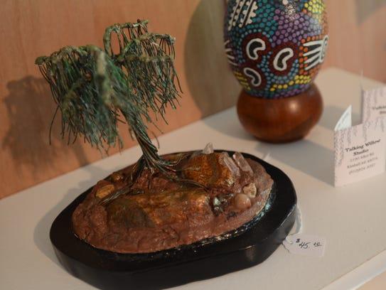 Willows inspire much of the work made by Luana Hengemuehle.