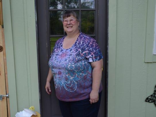 Luana Hengemuehle, 56, of Kimball, works out of Talking
