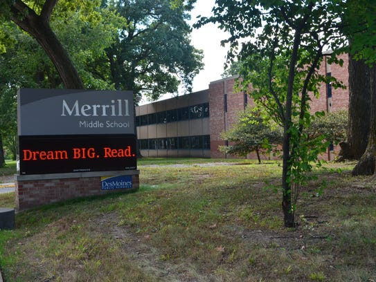 Merrill Middle School in Des Moines