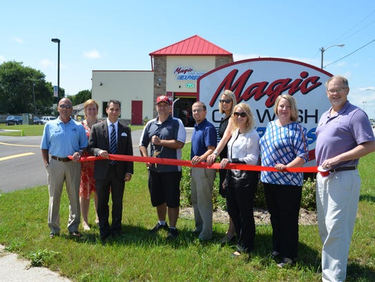 Magic Car Wash Express recently held a Grand Opening