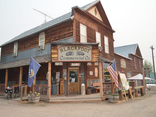 The Ovando Inn and Blackfoot Commercial Co. is a hub for the small community.