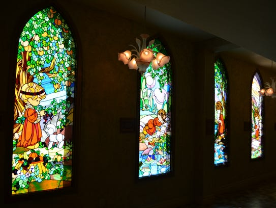 The Precious Moments Chapel in Carthage is beautiful