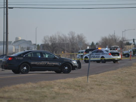 Montana Highway Patrol and Great Falls Police were