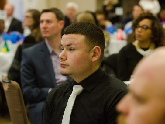 Jonathan Rodriguez is the 2018 Youth of the Year for