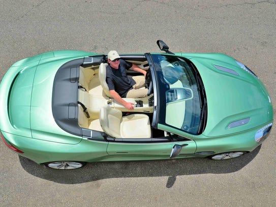 In the lap of luxury; the 2014 Aston Martin Vanquish