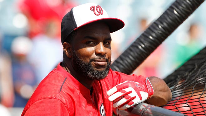 Denard Span batted .302 last season while posting career highs with 184 hits and 39 doubles.