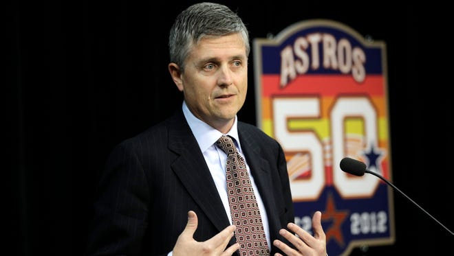 Jeff Luhnow is the general manager of the Astros since 2012.