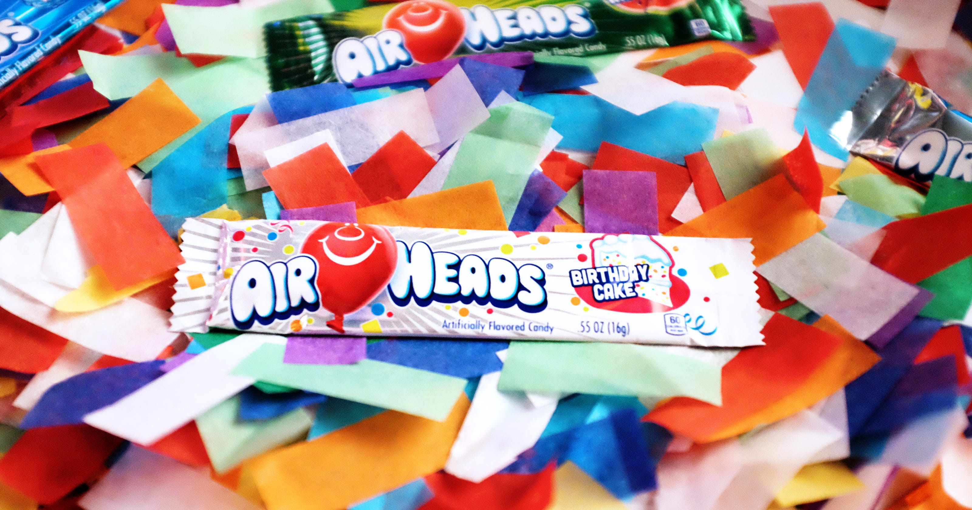 Airheads Candy Debuts New Cake Flavor For Its Birthday