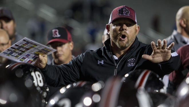 Desert Ridge coach Jeremy Hathcock is looking to upset No. 1 Mountain Pointe.