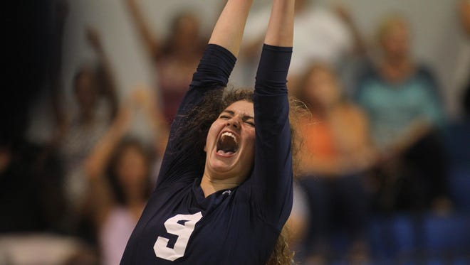 Maclay senior Melanie Canfield and her Marauders teammates are headed back to the state tournament for the first time since 2011, courtesy of a 3-0 sweep of Trinity Christian on Saturday in a Region 1-4A final.