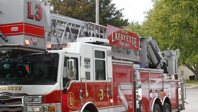 Lafayette fire investigators say the family dog saved three lives late Wednesday, alerting them to a fire in time to escape.
