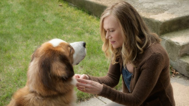 "Hannah (Peggy Lipton) has a special bond with Buddy in ""A Dog's Purpose."""