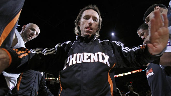 Steve Nash won an azcentral sports' fan vote as the best point guard in Suns history.