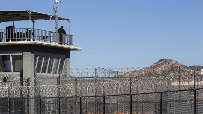 The Arizona State Prison Complex-Lewis in Buckeye.