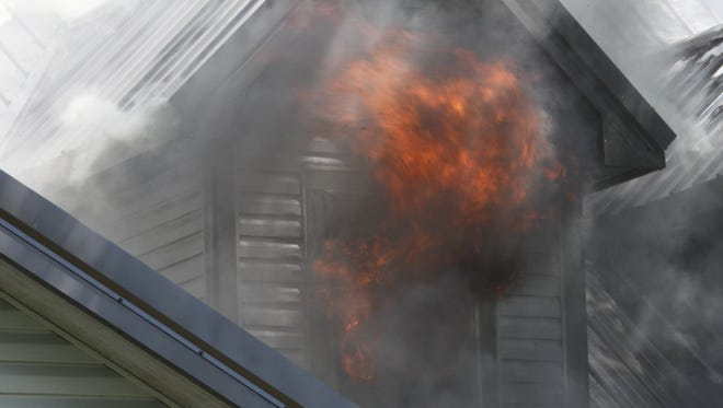 Six people were injured in an early morning fire near Frankfort.