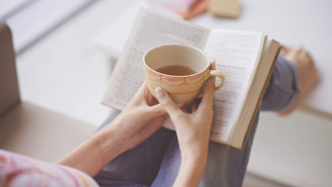 Maybe get cup of tea and a hot new romance, and settle down for the weekend.